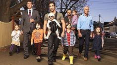 House Husbands. Australian drama series.