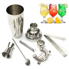 New 5pcs/Set 550ml Stainless Steel Cocktail Shaker Mixer Drink Hawthorn Strainer Ice Tongs Mixing Spoon Measure Cup Bar Tool Kit     Tag a friend who would love this!     FREE Shipping Worldwide     Get it here ---> http://rangloo.com/new-5pcsset-550ml-stainless-steel-cocktail-shaker-mixer-drink-hawthorn-strainer-ice-tongs-mixing-spoon-measure-cup-bar-tool-kit/