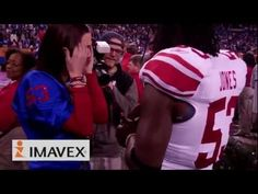 NY Giants linebacker proposes to girlfriend after Super Bowl win! My ultimate dream proposal Marry Me Quotes, Greg Jones, Girlfriend Videos, Proposal Videos, Super Bowl Wins, Tim Tebow, When Im Bored, Top Blogs, Marriage Proposals