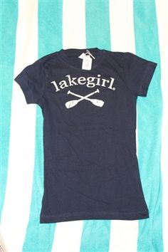 Lake Girl shirts for the little lake girl in your life.