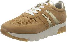 Tamaris Sneakers 23750-24 Damen Beige Camel Gold Beige Sneakers, Camel, Gold, Shoes, Fashion, Shoes For Less, Beige Trainers, Moda, Zapatos