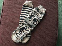 Ravelry: Deep in the Jungle Socks pattern by Anna Mäkilä Monkeys, Ravelry, Anna, Husband, Socks, Deep, Pattern, Rompers, Monkey