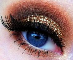 Champagne Glitz for New Years Eve - Includes video tutorial!