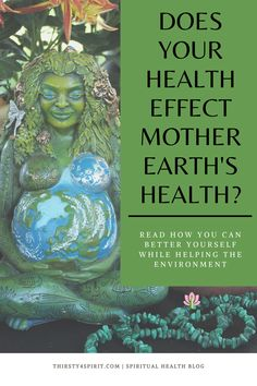 When you take care of yourself -- physically, spiritually and emotionally -- we can benefit Mother Earth as well. Read this article how the micro can REALLY effect the marco -->