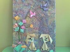 **ESPAÇO PSICOPEDAGÓGICO RECRIAR**: Quadro artes com origamis!