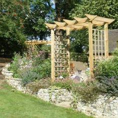 small garden lattice pergola small pergola designs in landscaping and outdoor building category - Arbor Designs Ideas