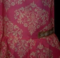 Childrens  Pink Poppies Ruffle Capri Pants by SarahRoseBoutique, $30.00