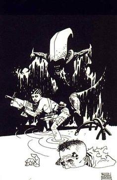 Aliens by Eduardo Risso *