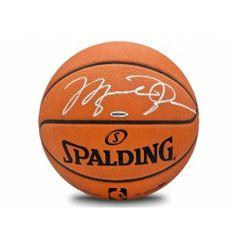 Michael Jordan Autographed Basketball