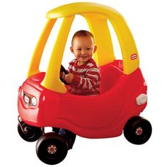 Little Tykes car.  I love that they still make these.