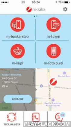 M-zaba  Android App - playslack.com ,  M-ZABA – ZAGREBAČKA BANKA MOBILE APPLICATIONm-zaba ensures practical, quick and safe banking. Using m-zaba, you have at your disposal a number of services, from m-banking and m-token, to the closest ATM or branch locator.m-banking and m-token services can be contracted via e-zaba (Internet banking) or at any of our branches. Other services, such as the ATM locator and exchange rates, are available to everybody, without the need of contracting them at…