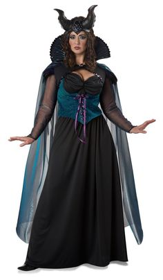 cd52de682d54f Plus Size Adult Storybook Sorceress Costume - Candy Apple Costumes -  Renaissance Costumes Maleficent Fancy Dress