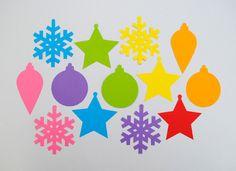 Новогодние поделки из бумаги. Елочные игрушки из бумаги