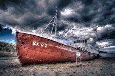 Garðar BA 64 Icelandic Beached Ruin