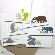 Image of: Couples Animal Pun Greeting Card Box Set Two Set Of Cards Blank All Occassion Pinterest 48 Best Animal Puns Images In 2019 Boyfriends Creativity Gifts