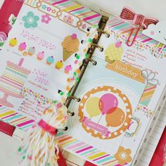Planners Ideas and Accessories Dark Pink Color Crush:: Anabelle O'Malley