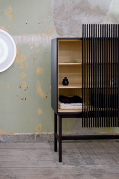 New Japanese furniture producer Ariake showcased its products in a dilapidated former embassy building during Stockholm design week 2018.