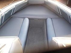 Boat Upholstery & Canvas  - Marine Services Boat Interior, Interior Ideas, Boat Upholstery, Boat Seats, Boat Stuff, Yacht Boat, Interiors, Canvas, Amp