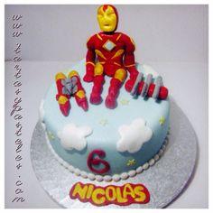 Tarta Iron Man