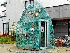 The Owl phone booth