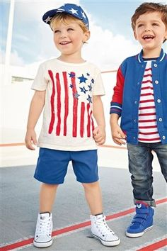 Buy Flag T-Shirt (3mths-6yrs) from the Next UK online shop
