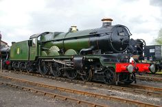 Ex GWR 5051 on show at Didcot Railway Centre 03/04/2011