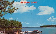 Woman Lake, Minnesota Postcard