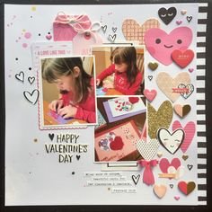 Happy Valentine's Day - Crate Paper - Hello Love Collection