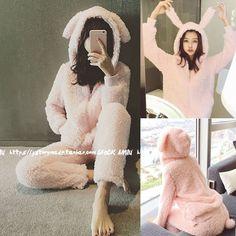 Cute Cartton Women Pink Unicorn Rabbit Flannel Hoodie Pajamas Costume Cosplay Animal Onesies Sleepwear For Women Adults Child Pijamas Onesie, Onesie Pajamas, Pyjamas, Cute Pjs, Cute Pajamas, Sleepwear Women, Pajamas Women, Kawaii Fashion, Cute Fashion