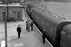 Coaches of the train involved in the great train robbery