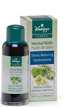 Kneipp Valerian & Hops Sleep Well Herbal Bath - 3.4 oz by Kneipp. $22.80. Size: 3.4 oz. For Deep, restorative sleep, relaxation, and insomnia. The best way to describe this herbal combination is deep sleep. For centuries, it has been known for its calming qualities. It can help to relieve nervous tension and improve your sleep. The valerian herb is also known to improve focus. Best results will be obtained when you either sleep or rest after taking your soak.