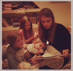 Cara with childrens oh my lord this is precius ! aunty C! lovee it xxx