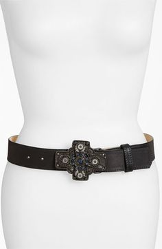 Leatherock 'Glam Noir' Belt available at #Nordstrom