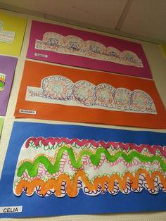 Ponts et boucles Art Plastique, Kindergarten, Creative, Montessori, Ideas, Fine Motor, Visual Arts, Learning, Coloring Pages