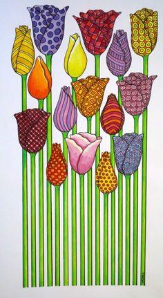 carolyn r. stich #ART #NATURE #FLOWER