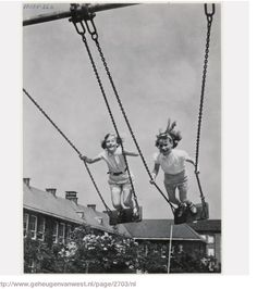 vintage everyday: 28 Interesting Vintage Photos Show People Playing Swing in the. vintage everyday: 28 Interesting Vintage Photos Show People Playing Swing in the Past