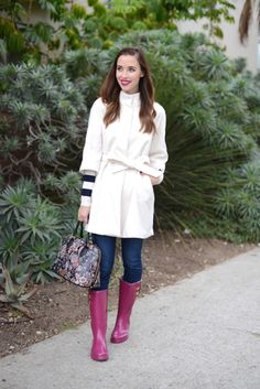 A white coat: http://www.stylemepretty.com/living/2015/09/07/the-chicest-ways-to-wear-white-after-labor-day/