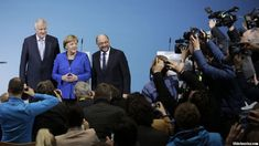 """Resistance is growing in the ranks of Germany's Social Democrats against forming another """"grand coalition"""" with Chancellor Angela Merkel's Christian Democrats, and migration policy is a major sticking point.  Migration remains the most divisive issue in the country following the slaying late last month of a teenage German girl by her former boyfriend, an Afghan migrant.  #Europe"""
