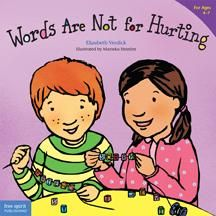 book and lesson on kind words