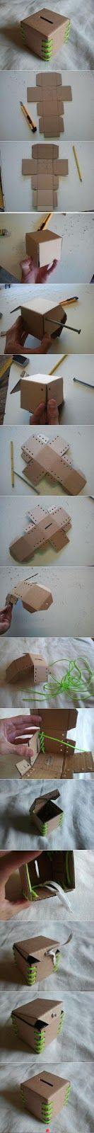 Que estoy haciendo: Cartón Making Money Box