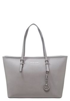 JET SET TRAVEL - Handtasche - pearl grey