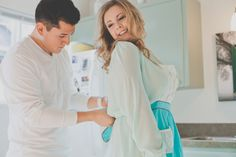 Crafty Engagement Shoot At Home by Hazelwood Photo | Bridal Musings