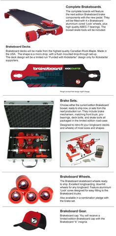 Brakeboard - Brakes For Longboard Skateboards. by Benjamin Newman — Kickstarter