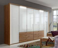 storage ideas modern wardrobe interior design now visit Wardrobe Interior Design, Wardrobe Door Designs, Wardrobe Design Bedroom, Bedroom Bed Design, Wardrobe Doors, Modern Wardrobe, Sliding Wardrobe, Glass Wardrobe, Wardrobe Bed