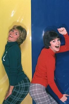 Penny Marshall and Cindy Williams (Laverne and Shirley)