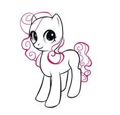 Drawing My Little Pony Ponies