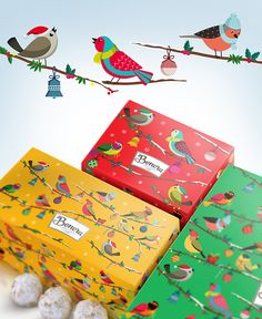 A list of 10 unique packaging designs that bring with them the wonderful spirit of Christmas.