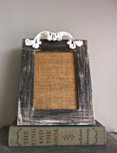 Picture Frame 5 x 7UpCycled Wood-Rustic Paint by PippinPost