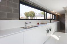 Architectuurfotografie en interieurfotografie van een nieuwbouwwoning van Geldhof Decoene architecten voor het magazine Ik Ga Bouwen. © foto's Liesbet Goetschalckx