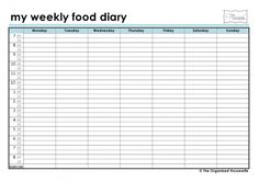 kelly fox on Pinterest | Food Diary, Food Journal and Slimming World